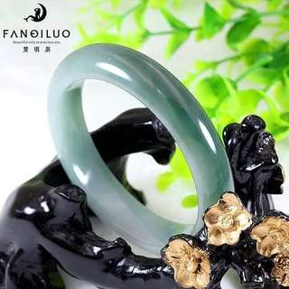 Natural Jadeite Bangle(Grade A)52MM