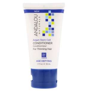 🚚 Andalou Naturals, Conditioner, Age Defying, For Thinning Hair, Argan Stem Cell, 50ml