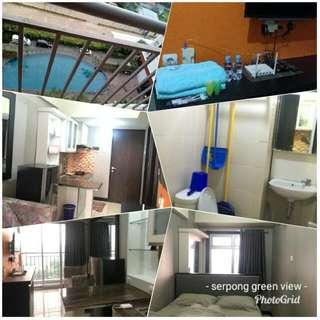 Disewakan Apartemen Harian Serpong Green View