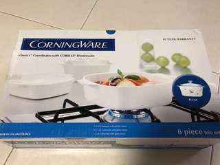 BNIB 4 pieces Corningware