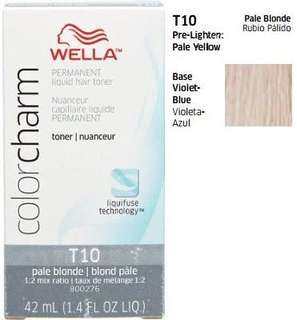 🚚 Wella Color Charm toner in T10 pale blonde