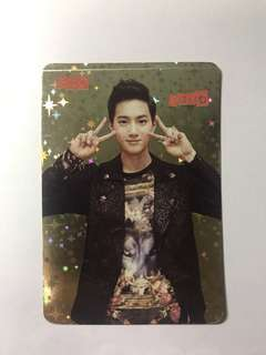 EXO Suho Yes! Card 閃卡