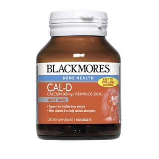 Blackmores Calcium vitamin D usual retail $36
