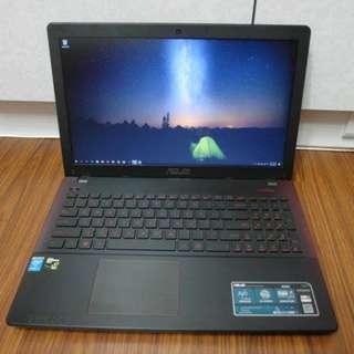 【出售】ASUS X550J i7 四核心 電競筆電 盒裝完整