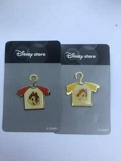 迪士尼Chip and dale徽章 (兩個)