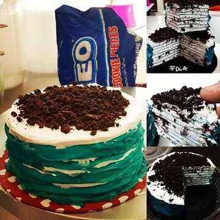 Oreo cake/mille oreo & oreo crepe