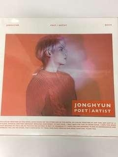 (全新未開封)SHINee 鐘鉉 Jong Hyun POET | ARTIST 專輯