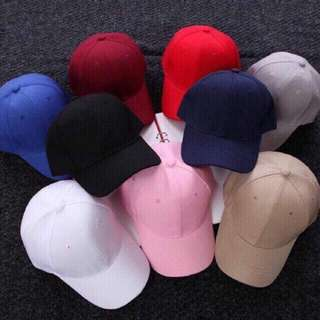 Korean Plain Baseball Cap