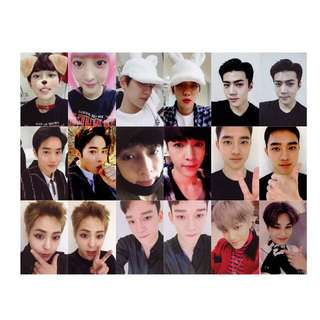EXO For Life Unofficial / Duplicate / Replica Photocards/ Photocard / Pc