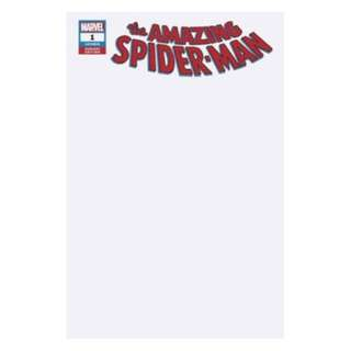 The Amazing Spider-Man #1 Blank