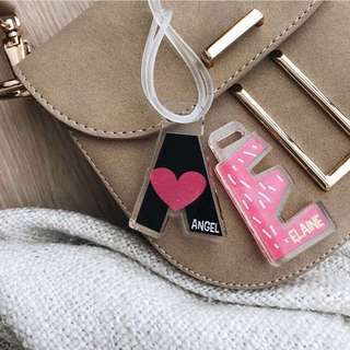 CUSTOM BAG TAG - sweety