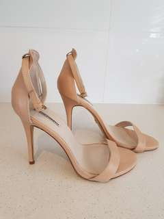 Windsor Smith - Christy Leather Nude Heel - Size 9.5