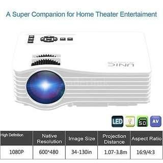 UNIC UC36 1200lumens HD LED Projector!!