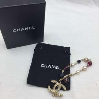 Chanel CC logo bracelet 連盒及塵袋