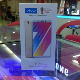 New vivo y71 cash dan credit