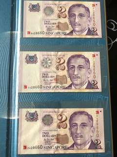 Singapore Currency/Millennium Note/Old Notes/Currency/Collection