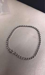 tennis bracelet platinum with diamond