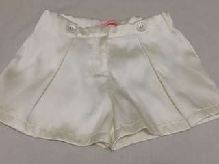Gingersnaps White Shorts