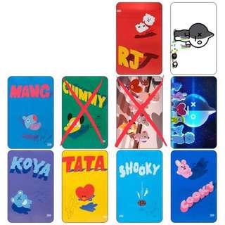 BTS bus/id card sticker