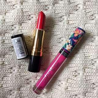 P500 beauty bundle: Branded Lipsticks (Revlon + Victoria's Secret)