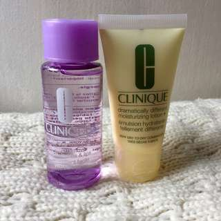 P500 beauty bundle: Clinique skincare