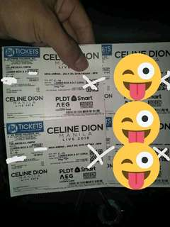 CELINE DION CHEAP PRICE TiCKET