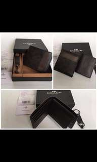 Coach Mens Wallet *Authentic