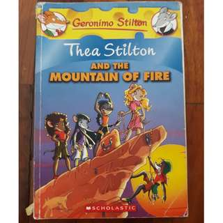 Geronimo Stilton: Thea Stilton and the Mountain of Fire