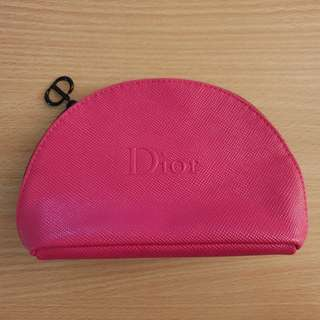 New Dior Pink makeup bag