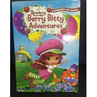 Strawberry Shortcake's Berry Bitty Adventures Movie (Authentic DVD)
