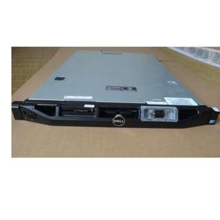 (二手帶保)DELL  R410 準系統 1U 服務器 E5506 4G/8G Ram 146G HDD DELL列陣卡