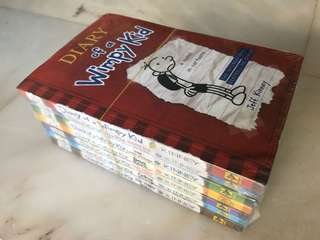 Diary Of A Wimpy Kid set of 7