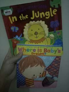 High and seek in the jungle & where is my baby dreidel  ( from Big Bad wolf)