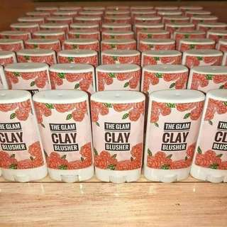 GLAM CLAY BLUSHER (3in1: BLUSH ON, LIP BALM, AND EYE SHADOW. ON HAND!)