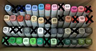 🚚 Copic Refill