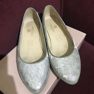 Flat Shoes Silver