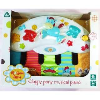 BN ELC Blossom Farm Cloppy Pony Musical Piano
