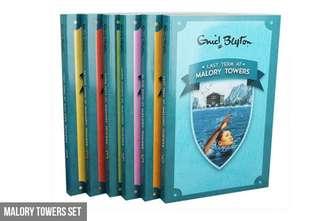 🚚 Six-Book Enid Blyton Malory Towers