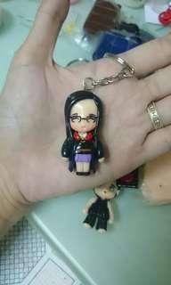 1.5 inch Personalized Chibi Keychain