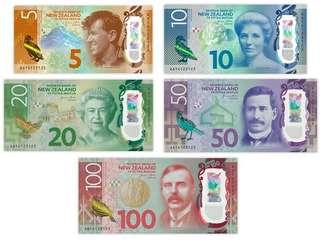 New Zealand currency exchange