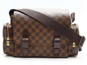 LV Messenger And Reporter Bag in Damier Ebene