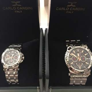 [NEW] Carlo Cardini Couple Watch (Italy)