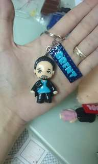 1.5 Inch Personalized Chibi with Nameplate