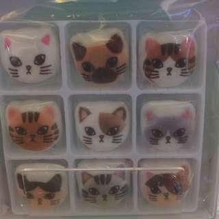 日本貓貓棉花糖