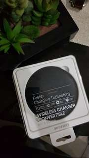 RUSH SALE 2500 ONLY Samsung Wireless Charger Convertible Pad & Stand