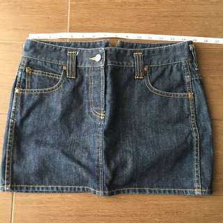 Authentic Fcuk Jeans Skirt