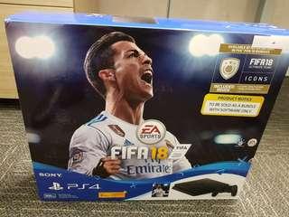 Playstation 4 FIFA 18 Bundle Pack Jet Black 500GB