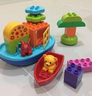 Lego Duplo Creative Play & Boat Fun