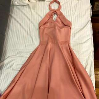apartment 8 old rose dress