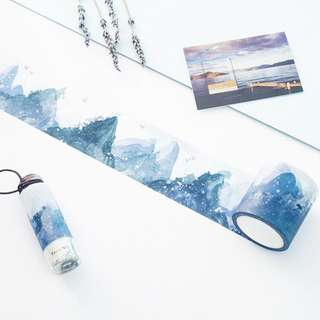 [PO] mountain washi tape